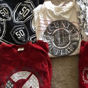 Ecko unlimited g-unit 50 Cent T-shirt lot Eminem